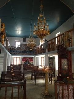 אחת הכנסיות - מראה מבפנים