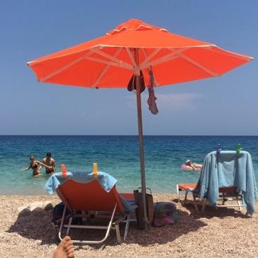 שמשיה, ים כחול והרבה שלווה